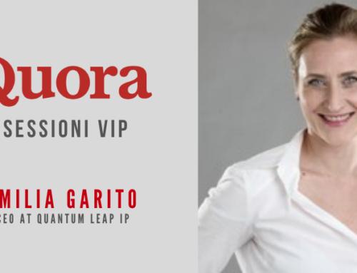 Emilia Garito partecipa alle sessioni VIP di Quora
